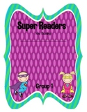Superhero Guided Reading Groups Organizer