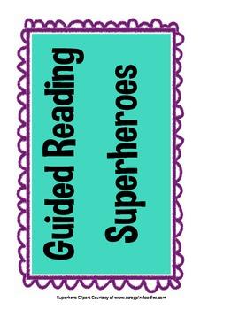 Superhero Guided Reading Groups Organizer