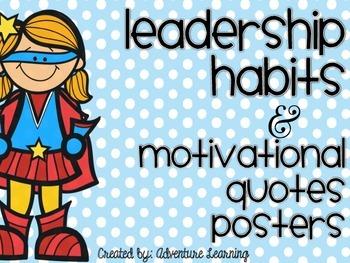 Superhero Habits- 17 Motivational Posters