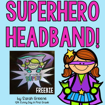 Superhero Headbands {freebie!}