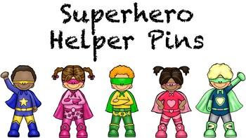 Superhero Helper Tags Growing Bundle