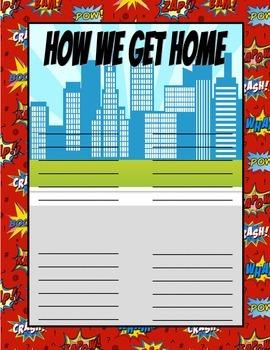 Superhero How We Get Home