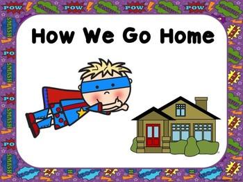 Superhero How We Go Home