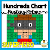 Superhero Hundreds Chart Mystery Picture