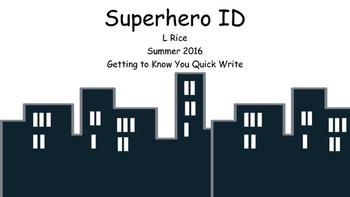 Superhero ID