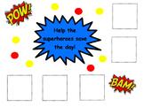 Superhero Incentive Chart