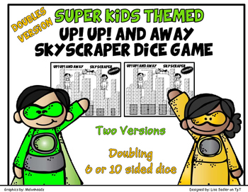 Double Facts - Skyscraper Dice Math Game
