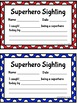 Superhero Interactive Notebook and Classroom Management System