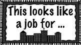 Superhero Job Chart