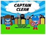 Superhero Job Chart with Superheroes
