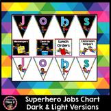 Superhero Jobs Chart Editable