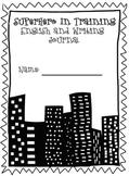 Superhero Journal Cover- ELAR