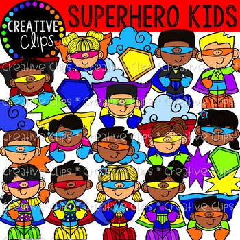 Superhero clipart kids creative clips clipart tpt superhero clipart kids creative clips clipart voltagebd Image collections
