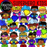 Superhero Kids Clipart {Superhero Clipart}