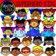 Superhero Clipart KIDS {Creative Clips Clipart}