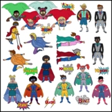 Superhero Clipart for Teens and Preteens