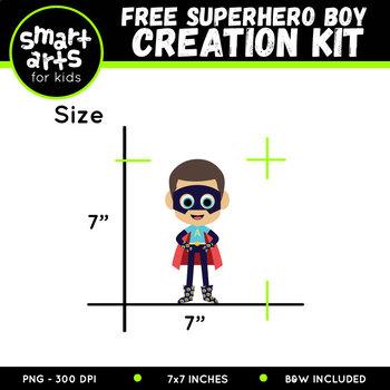 Build Your Own Superhero Boy