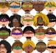 Superhero Kids Expressions Emotions Clip Art 20 Color Clip Art Images