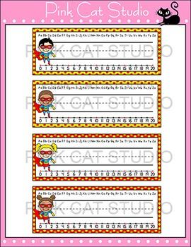 Superhero Theme Classroom Materials - Name Plates