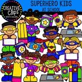 Superhero Kids at School: Superhero Clipart {Creative Clip