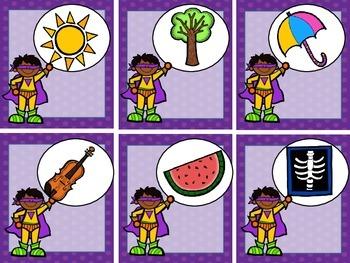 Superhero Kindergarten Math & Literacy Pack (19 CCSS Centers)