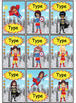 Superhero Labels
