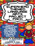 Persuasive Essay, PSA & Debate: Superhero Language Arts Pr