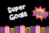 Superhero Goal Setting Learning & Behaviour Chart ****Editable Goals/Rewards