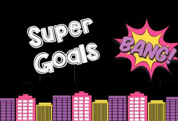Superhero Goal Setting Learning & Behaviour Chart ****Edit
