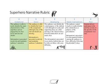 Superhero Lesson Unit