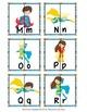 Superhero Letter Match Puzzles