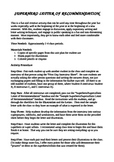 Superhero Letter of Recommendation (Expository Writing)
