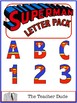 Superhero Letter and Number Packs {A Growing Bundle}