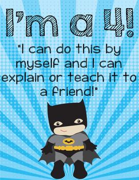 Superhero Levels of Understanding