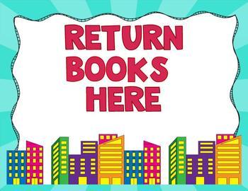 Superhero Library Decor Pack