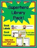 Superhero Library Pack