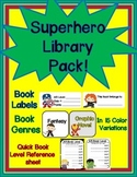 Superhero Library Pack