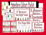 Superhero Library/Reading Packet