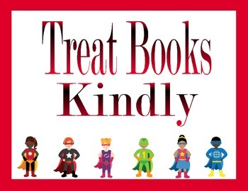 Superhero Library/Reading Packet