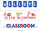Superhero Lightbox Back to School