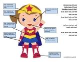 Superhero Listening (female)