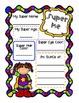 Superhero Literacy Graphic Organizers