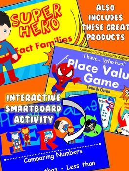 Superhero Literacy & Math Thematic Unit