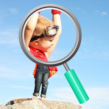 Superhero Little Boy Costume / Dress Ups Photo Clip Art Commercial Use