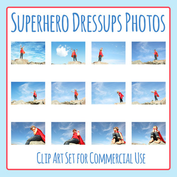 Superhero Little Boy Costume / Dress Ups Photo Clip Art Co
