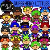 Superhero Littles Clipart {Creative Clips Clipart}