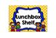 Superhero Lunchbox Shelf