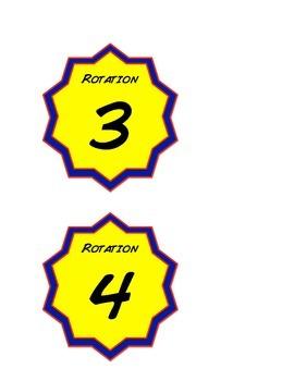 Superhero MATH Rotation Numbers