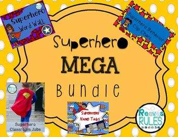 Superhero MEGA Bundle