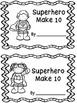 Superhero Make 10 Booklet and Memory Card Game